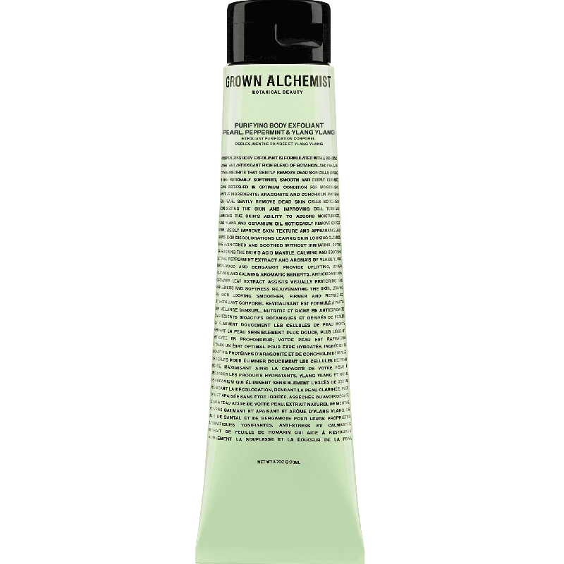 Purifying Body Exfoliant Pearl ; Peppermint ; Ylang Ylang