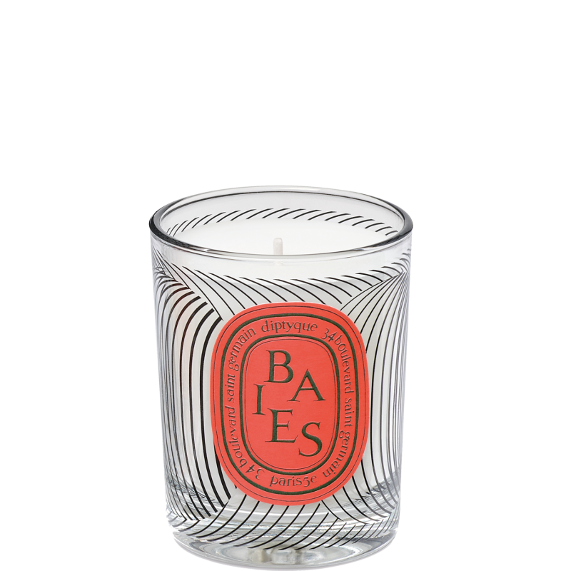 Bougie Dancing Ovals Baies