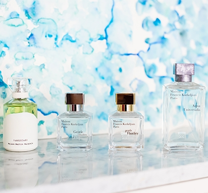Gentle Fluidity in perfumery