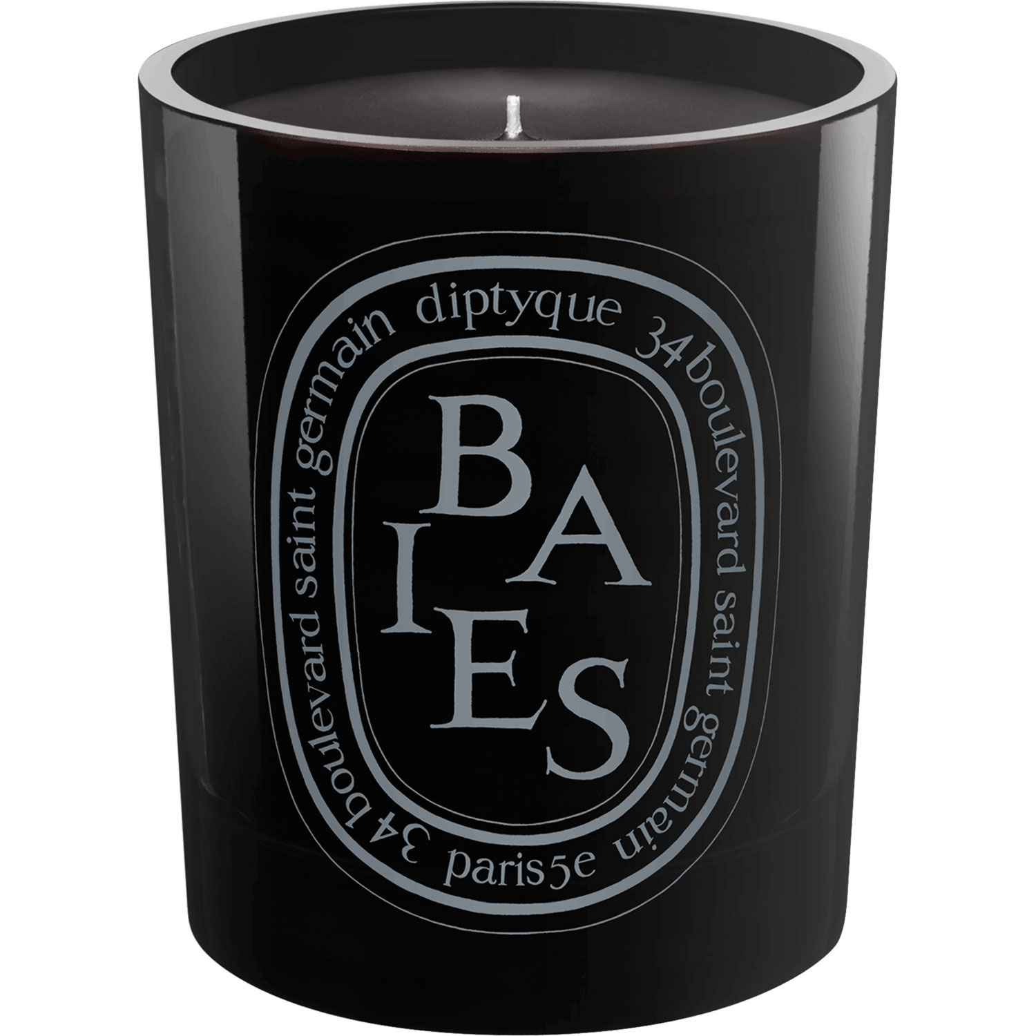 Bougie Noire Baies   Candle